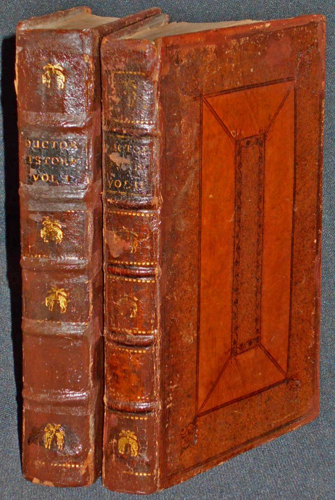 Ductor Historicus: or, A Short System of Universal History, and An Introduction to the Study of it [2 volumes] [provenance: George Baillie (1664-1738), Lord Commissioner of the Treasury]. Thomas Hearne.