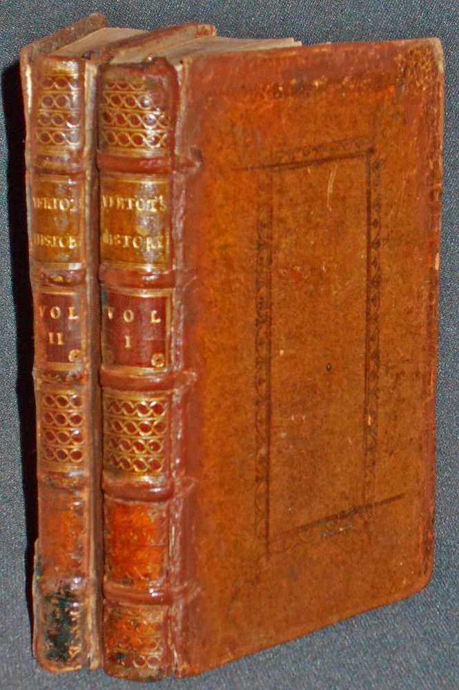 A Critical History of the Establishment of the Bretons among the Gauls, and of Their Dependence upon the Kings of France, and Dukes of Normandy; by Monsieur the Abbot of Vertot . . . Done from the Original French, printed at Paris [2 volumes] [provenance: Strickland Freeman]. Abbé de Vertot.