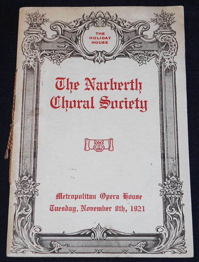 The Narberth Choral Society [with soprano Lucy Isabelle Marsh and violinist John Richardson]