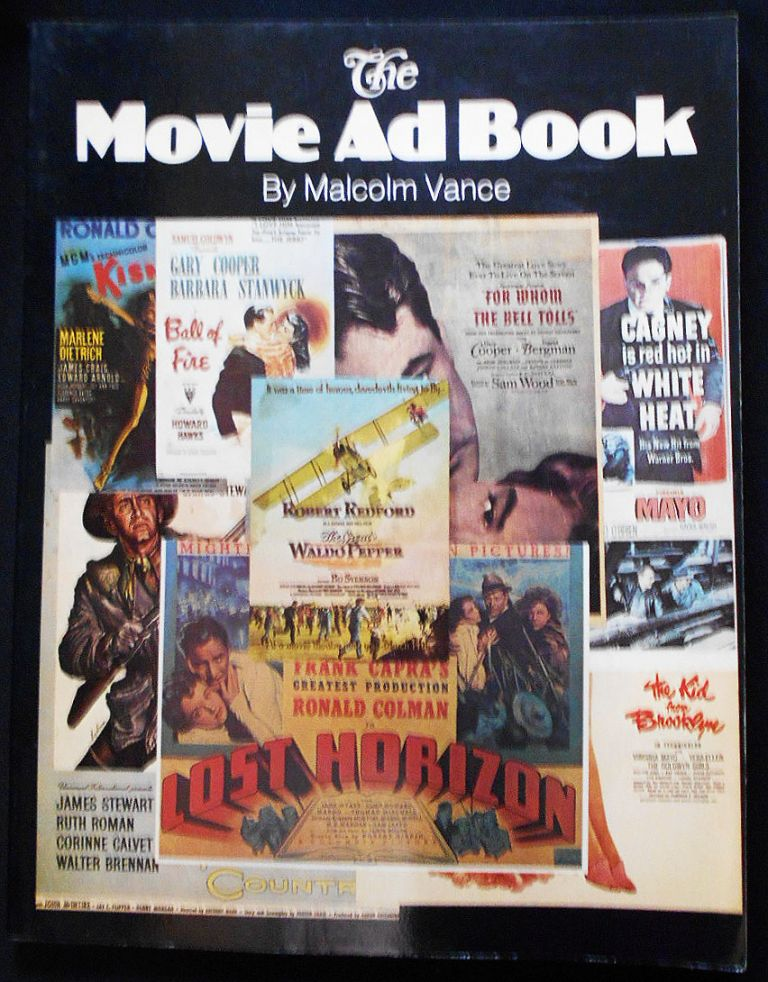 The Movie Ad Book. Malcolm Vance.