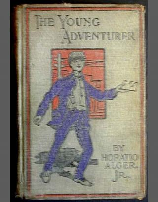 The Young Adventurer; or Tom's Trip Across the Plains. Horatio Alger, Jr
