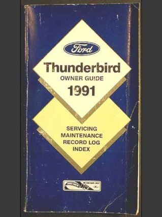 Ford Thunderbird Owner Guide