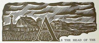 A Boyhood in Iowa; With a Foreword by Will Irwin and wood engravings by John DePol