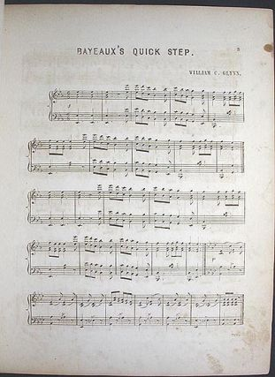 Bayeaux: Quick Step composed & arranged for the Piano