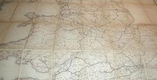 Cheffins's Map of the Railways in Great Britain: From the Ordnance Surveys