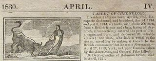 Leavitt's Farmer's and Scholar's Almanack, for the Year of our Lord 1830: Being the Second After Missextile, or Leap Year, and of American Independence the Fifty-Fourth