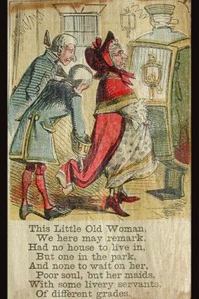 """The Little Old Woman [with a variant of the Taylors' """"The Dunce of a Kitten""""]"""