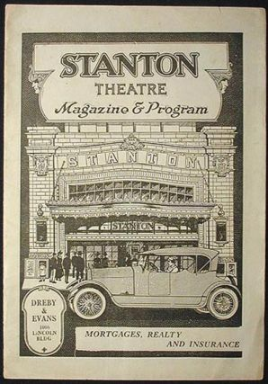 Stanton Theatre Magazine & Program Dec. 17, 1923 [Adolphe Menjou in Rupert of Hentzau]