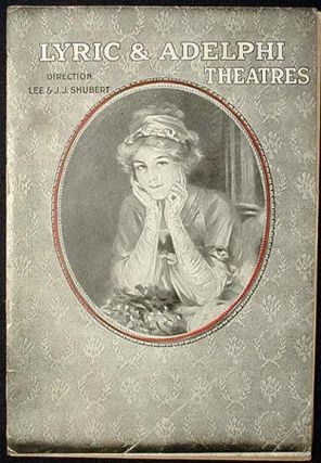 The Guest of Honor Playbill 1920 Philadelphia Lyric Theatre [starring William Hodge
