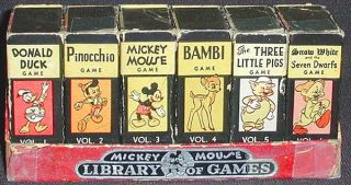 Mickey Mouse Library of Games