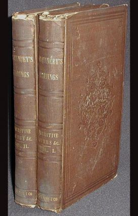 Narrative and Miscellaneous Papers [2 vols]. Thomas De Quincey