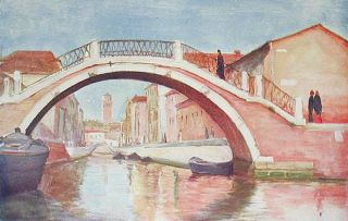 Venice and Its Story; Illustrated by Nelly Erichsen, W.K. Hinchliff & O.F.M. Ward