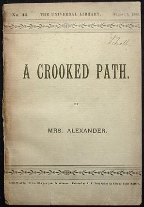A Crooked Path. Annie Hector Alexander