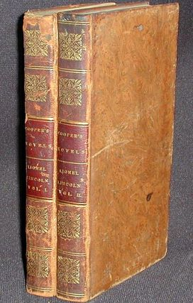 Lionel Lincoln; or, The Leaguer of Boston [2 volumes]. James Fenimore Cooper.