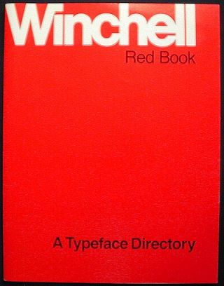 Winchell Red Book: A Typeface Directory