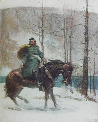 The Long Roll; with illustrations by N.C. Wyeth