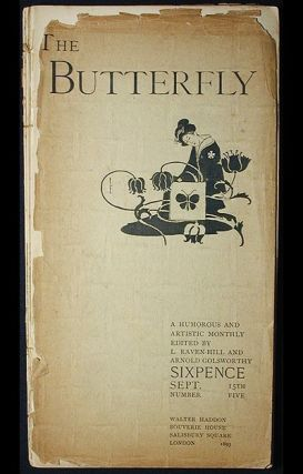 The Butterfly: A Humorous and Artistic Monthly No. 5 Sept. 1893 Edited by L. Raven-Hill and...