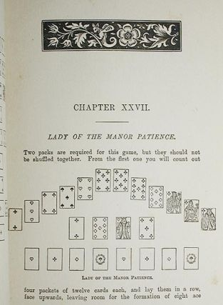Games of Patience for One or More Player by Miss Whitmore Jones; Illustrated [1st, 2nd, and 3rd series]
