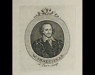 A Note on Nicholas Parr's Portrait of Shakespeare Engraved circa 1740 by C.L.M.