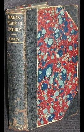 Man's Place in Nature and Other Anthropological Essays. Thomas Henry Huxley