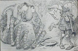 Sylvie and Bruno [and] Sylvie and Bruno Concluded by Lewis Carroll; [each] with forty-six illustrations by Harry Furniss [2 vols]