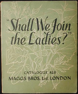 Women in Literature: A Catalogue of Books by or about Women [No. 829, Oct. 1955]. Maggs Bros