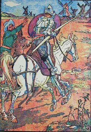 Don Quixote of the Mancha retold by Judge Parry; illustrated by Walter Crane