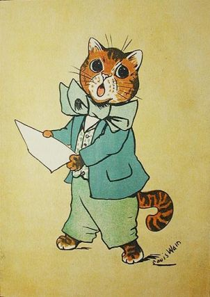 Cat's Cradle: a Picture-book for Little Folk; cats by Louis Wain; rhymes by May Byron