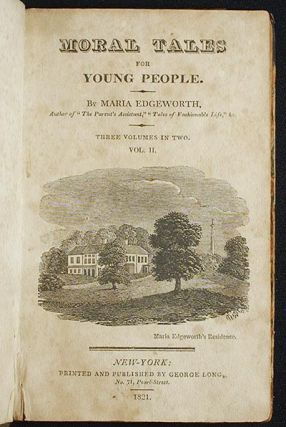 Moral Tales for Young People [vol. 2]. Maria Edgeworth