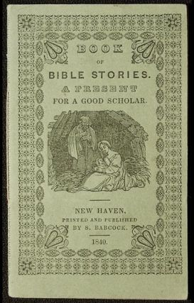 Book of Bible Stories: A Present for a Good Scholar