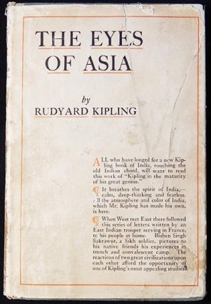 The Eyes of Asia. Rudyard Kipling