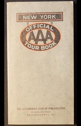 Official AAA Tour Book: New York [with map
