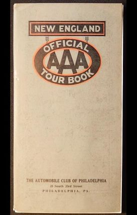 Official AAA Tour Book: New England [with map