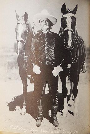 Tony and His Pals by H.M. and F.M. Christeson with a chapter by Tom Mix; decorated by Kay Little