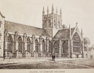 The Microcosm of Oxford: Containing a Series of Views of the Churches, Colleges, Halls & Other Public Buildings of the University and city of Oxford by N. Whittock, lithographist & draftsman to the University of Oxford