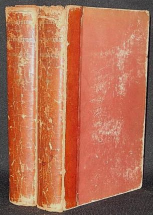 Amenities of Literature: Consisting of Sketches and Characters of English Literature by Isaac Disraeli; A New Edition edited by his son the Right Hon. B. Disraeli [2 volumes] [provenance: Morris Morgan]. Isaac Disraeli, Benjamin Disraeli, ed.