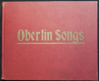 Songs of Oberlin. Anna Louise Strong.