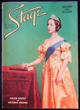Stage: The Magazine of After-Dark Entertainment -- January 1936 vol. 13 no. 4 [George M. Cohan --...