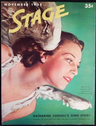 Stage: The Magazine of After-Dark Entertainment -- November 1938 vol. 16 no. 2 [Billy Rose -- Clare Boothe -- Benny Goodman -- Katharine Cornell]