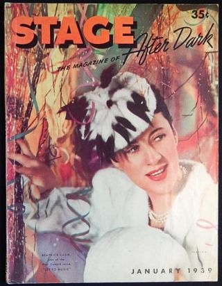 Stage: The Magazine of After Dark -- January 1939 vol. 16 no. 4 [Lauritz Melchior -- Katharine...