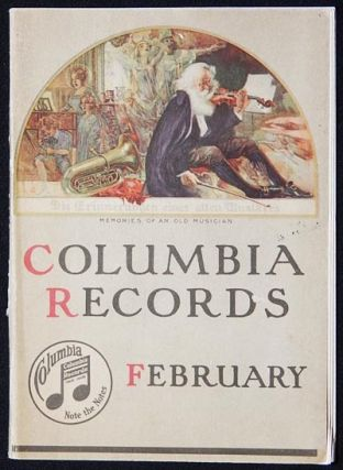 Columbia Records: February [catalog, 1917]