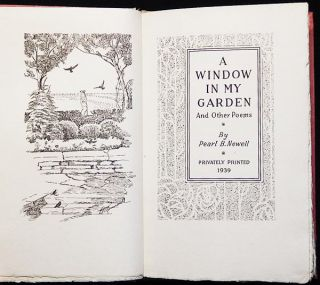 A Window in My Garden and Other Poems by Pearl B. Newell