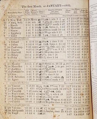 Washington Almanack, for 1832, being Bissextile, or Leap Year; containing 366 days, and the Fifty-sixth Year of American Independence