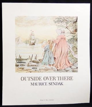 Outside Over There [publisher's press sheet]. Maurice Sendak