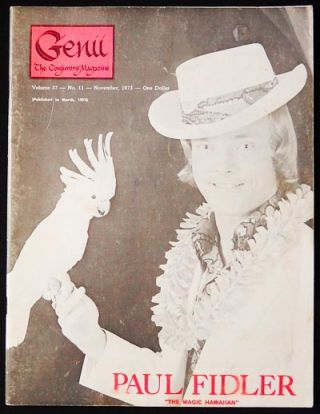Genii: The Conjurors' Magazine Nov. 1973 vol. 37 no. 11