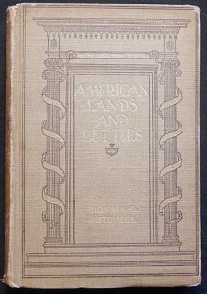 "American Lands and Letters: Leather-Stocking to Poe's ""Raven"" Donald G. Mitchell."