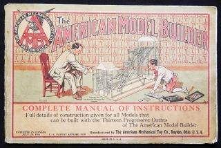 The American Model Builder: Complete Manual of Instructions