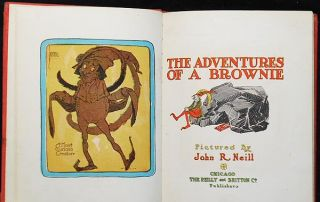 The Adventures of a Brownie; pictured by John R. Neill