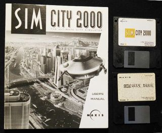 SimCity 2000 the Ultimate City Simulator: User Manual [with 2 discs]. Michael Bremer