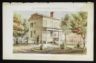 The Caster Estate Betw. 35th & 36th St's and Lexington Avs. [chromolithograph from Valentine's...